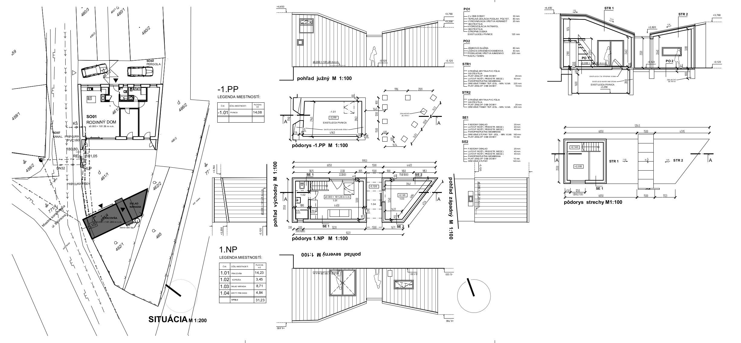2012_02-STUPAVA-DOM zmena stodola 5 PSP upravene-ZMENA stodola architketura (2)